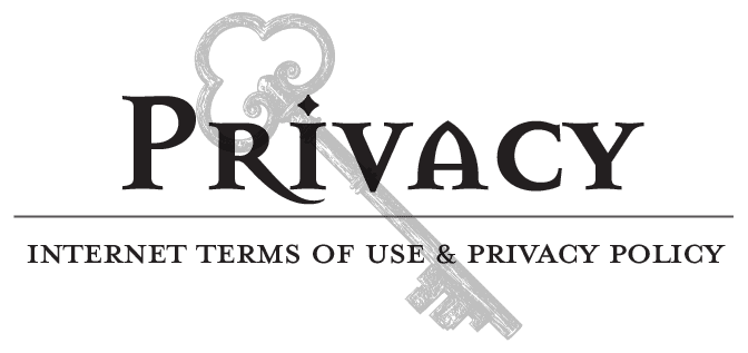 Privacy. Internet terms of use & privacy policy
